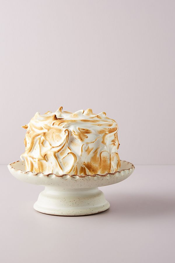 Slide View: 1: Pinched Edge Cake Stand