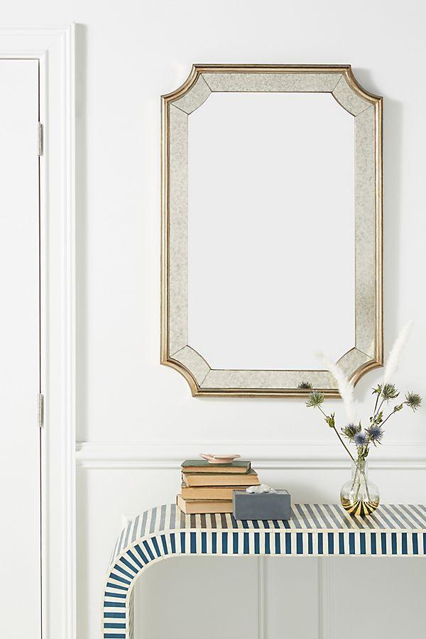 Slide View: 1: Jayda Smoked Glass Mirror
