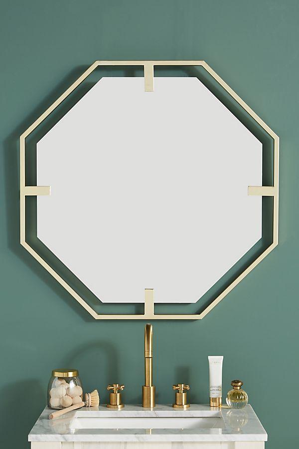 Slide View: 1: Melanie Octagon Mirror
