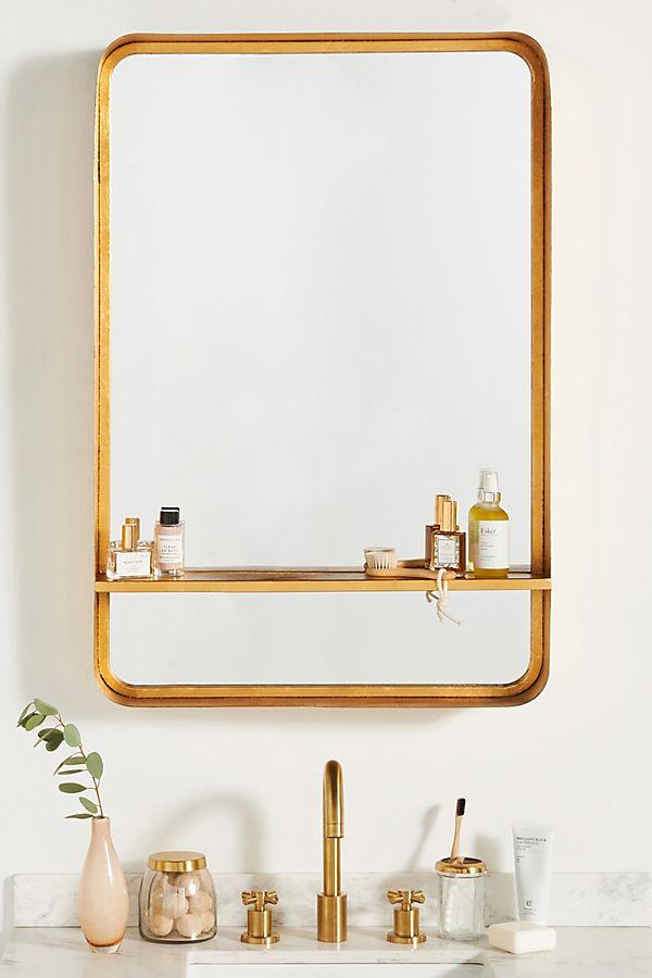 Slide View: 1: Bree Mirrored Shelf