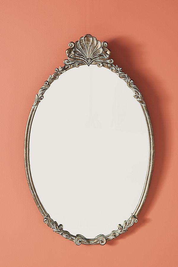Slide View: 1: Camillia Oval Mirror