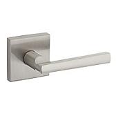 Montreal Door Levers, Satin Nickel 154MRL SQT 15 | Kwikset Door Hardware