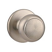 Cove Passage/Hall/Closet Door Knobs, Satin Nickel 200CV 15 | Kwikset Door Hardware