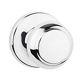 Cove Passage/Hall/Closet Door Knobs, Polished Chrome 200CV 26 | Kwikset Door Hardware