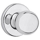Polo Passage/Hall/Closet Door Knobs, Polished Chrome 200P 26 | Kwikset Door Hardware