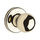 Polo Passage/Hall/Closet Door Knobs, Polished Brass 200P 3 | Kwikset Door Hardware