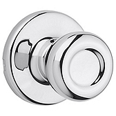Tylo Passage/Hall/Closet Door Knobs, Polished Chrome 200T 26 | Kwikset Door Hardware
