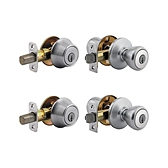 Tylo Combo Pack  , Satin Chrome 242T 26D | Kwikset Door Hardware