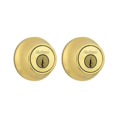 660 Deadbolt Combo Pack  , Polished Brass 244 3 | Kwikset Door Hardware