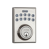 264 Contemporary Deadbolt , Satin Nickel 264 CNT 15 | Kwikset Door Hardware