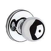 Polo Privacy/Bed/Bath Door Knobs, Polished Chrome 300P 26 | Kwikset Door Hardware
