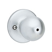 Polo Privacy/Bed/Bath Door Knobs, Satin Chrome 300P 26D | Kwikset Door Hardware