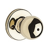 Polo Privacy/Bed/Bath Door Knobs, Polished Brass 300P 3 | Kwikset Door Hardware