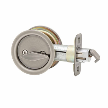 Round Bed Bath Pocket Door Lock