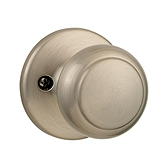 Cove Inactive/Dummy Door Knobs, Satin Nickel 488CV 15 | Kwikset Door Hardware