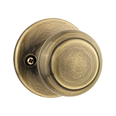 Cove Door Knobs, Antique Brass 488CV 5 | Kwikset Door Hardware