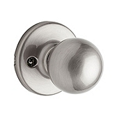 Polo Inactive/Dummy Door Knobs, Satin Nickel 488P 15 | Kwikset Door Hardware
