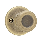 Tylo Inactive/Dummy Door Knobs, Antique Brass 488T 5 | Kwikset Door Hardware
