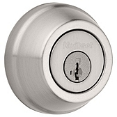 Gatelatch Deadbolts, Satin Nickel 598 15 SMT | Kwikset Door Hardware