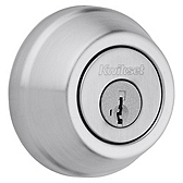 Gatelatch Deadbolts, Satin Chrome 598 26D SMT | Kwikset Door Hardware