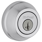 Gatelatch Deadbolts, Satin Chrome 599 26D SMT | Kwikset Door Hardware