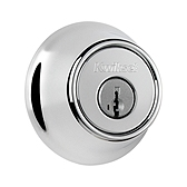 660/665 Deadbolt  , Polished Chrome 665 26 SMT | Kwikset Door Hardware