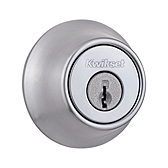 660/665 Deadbolt , Satin Chrome 660 26D | Kwikset Door Hardware