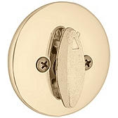 663/667 Single Sided Deadbolt , Polished Brass 663 3 | Kwikset Door Hardware