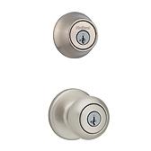 Cove Combo Pack  , Satin Nickel 690CV 15 | Kwikset Door Hardware