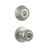 Polo Combo Pack , Satin Nickel 690P 15 | Kwikset Door Hardware