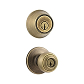 Polo Combo Pack , Antique Brass 690P 5 | Kwikset Door Hardware