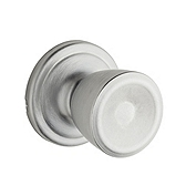 Abbey Passage/Hall/Closet Door Knobs, Satin Chrome 720A 26D | Kwikset Door Hardware