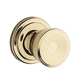 Abbey Door Knobs, Polished Brass 720A 3 | Kwikset Door Hardware