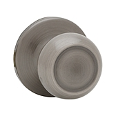 Copa Passage/Hall/Closet Door Knobs, Antique Nickel 720C 15A | Kwikset Door Hardware