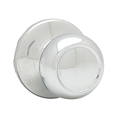 Copa Passage/Hall/Closet Door Knobs, Polished Chrome 720C 26 | Kwikset Door Hardware