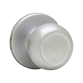 Copa Passage/Hall/Closet Door Knobs, Satin Chrome 720C 26D | Kwikset Door Hardware
