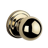 Circa Passage/Hall/Closet Door Knobs, Polished Brass 720CA 3 | Kwikset Door Hardware