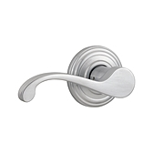 Commonwealth Passage/Hall/Closet Door Levers, Satin Chrome 720CHL 26D | Kwikset Door Hardware