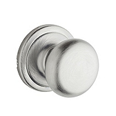 Hancock Passage/Hall/Closet Door Knobs, Satin Chrome 720H 26D | Kwikset Door Hardware