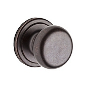 Hancock Passage/Hall/Closet Door Knobs, Rustic Bronze 720H 501 | Kwikset Door Hardware