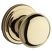 Hancock Passage/Hall/Closet Door Knobs, Lifetime Polished Brass 720H L03 | Kwikset Door Hardware