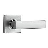 Vedani Passage/Hall/Closet Door Levers, Satin Chrome 720VDL 26D | Kwikset Door Hardware