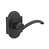 Austin Privacy/Bed/Bath Door Levers, Venetian Bronze 730AUL 11P | Kwikset Door Hardware