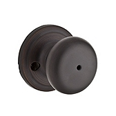 Hancock Privacy/Bed/Bath Door Knobs, Venetian Bronze 730H 11P | Kwikset Door Hardware