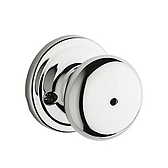 Hancock Privacy/Bed/Bath Door Knobs, Polished Chrome 730H 26 | Kwikset Door Hardware