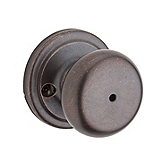 Hancock Privacy/Bed/Bath Door Knobs, Rustic Bronze 730H 501 | Kwikset Door Hardware