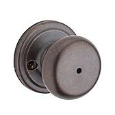 Juno Door Knobs, Rustic Bronze 730J 501 | Kwikset Door Hardware