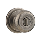 Juno Door Knobs, Rustic Pewter 730J 502 | Kwikset Door Hardware