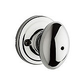 Laurel Privacy/Bed/Bath Door Knobs, Polished Chrome 730L 26 | Kwikset Door Hardware