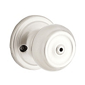 Phoenix Privacy/Bed/Bath Door Knobs, Satin Nickel 730PE 15 | Kwikset Door Hardware